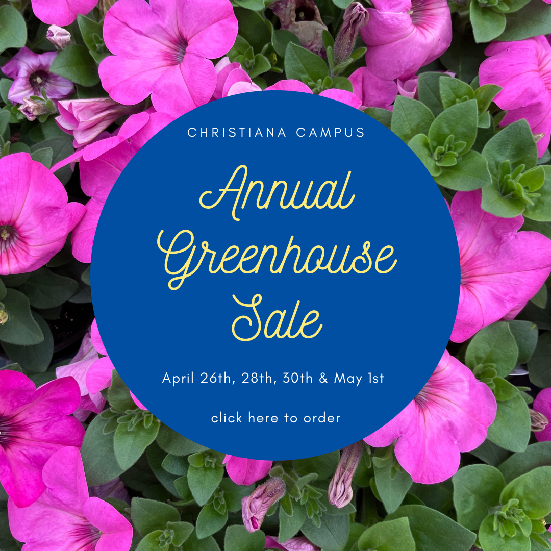 Christiana Campus Annual Greenhouse Sale