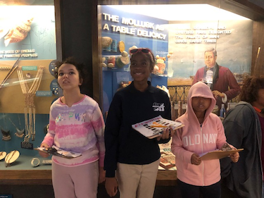 Shue REACH classes go to Delaware Natural History Museum