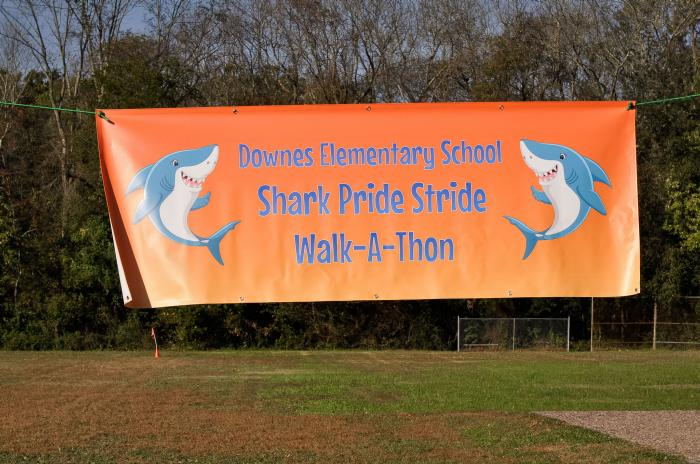 Downes Elementary Annual Shark Pride Stride Walk-A-Thon