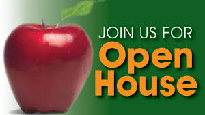 Open House Reminder Thursday October 1, 2020 (6-8 p.m.)