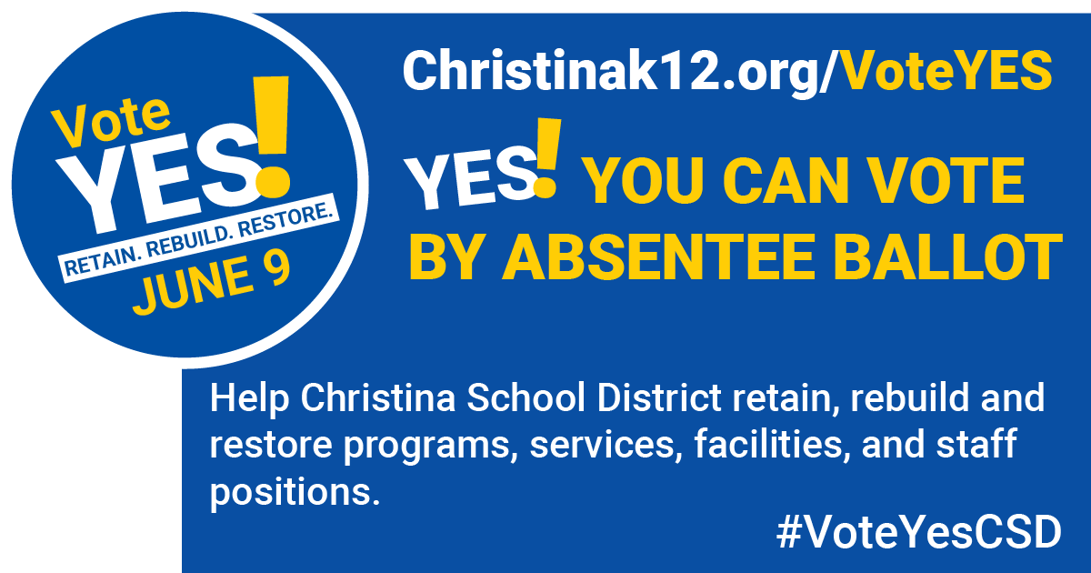 Our District Really Needs Your Vote!