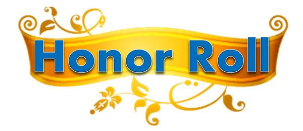 Congratulations to our 3rd Marking Period Honor Roll Students