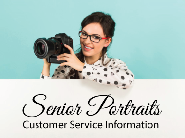 Senior Portraits Customer Service Info
