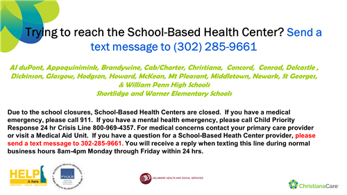 Trying to Reach the School-Based Health Center?