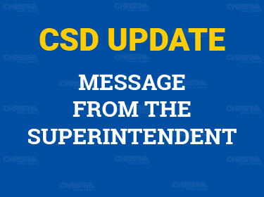 CSD Update: Message from the Superintendent