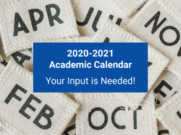 2020-2021 Academic Calendar. We need your feedback on