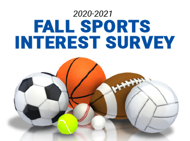 Fall Sports Interest Survey - collage of sports balls