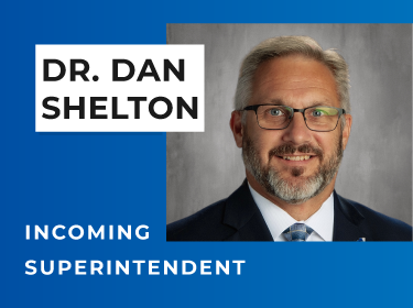 Incoming superintendent Dr. Dan Shelton