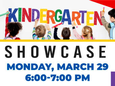 Join Us for the Kindergarten Showcase - March 29