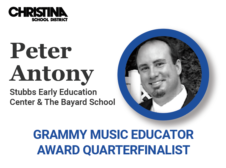 Peter Antony, GRAMMY Music Educator Award Quarterfinalist
