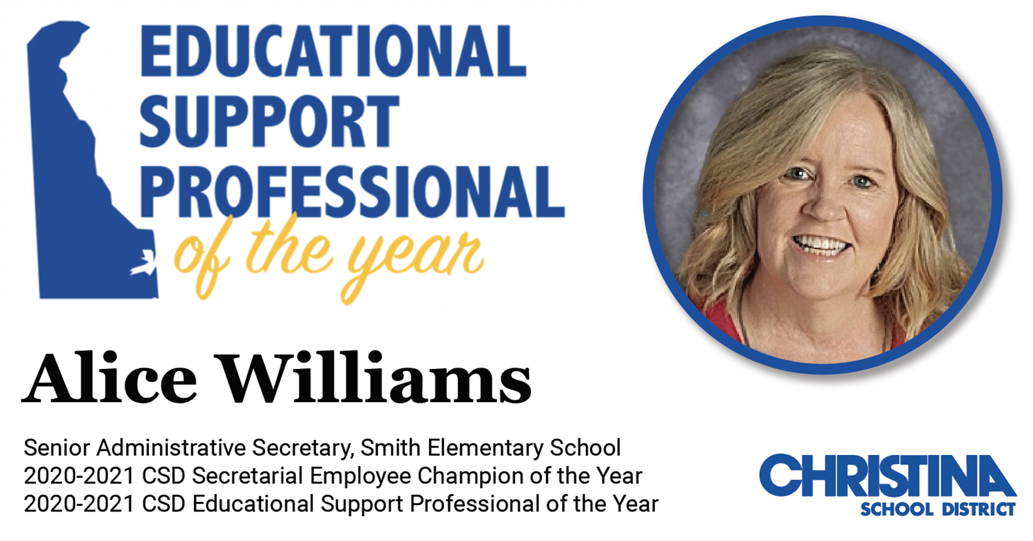 Education Support Professional of the Year - Alice Wiliams