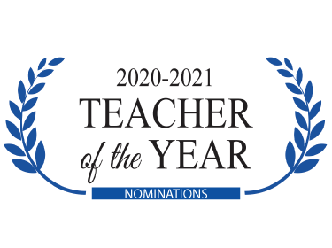 2020-2021 Teacher of the Year Nominations