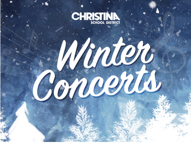 Christina School District -  Winter Concerts 2019