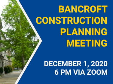 Bancroft Construction Planning Meeting, December 1, 2020