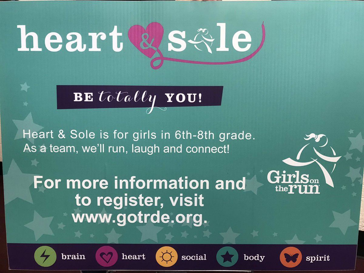 Sign up for girls on the run