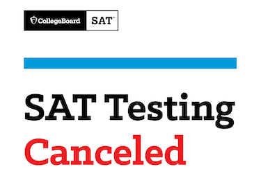 Collegeboard | SAT - Testing Canceled