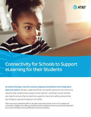 AT&T Connectivity for Schools to Support learning for their Students