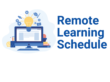 Rremote Learning schedule