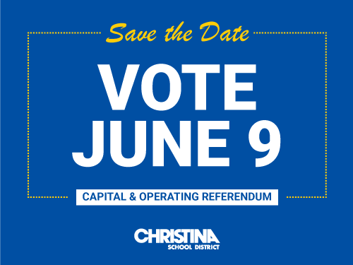 Capital & Operating Referendum - June 9