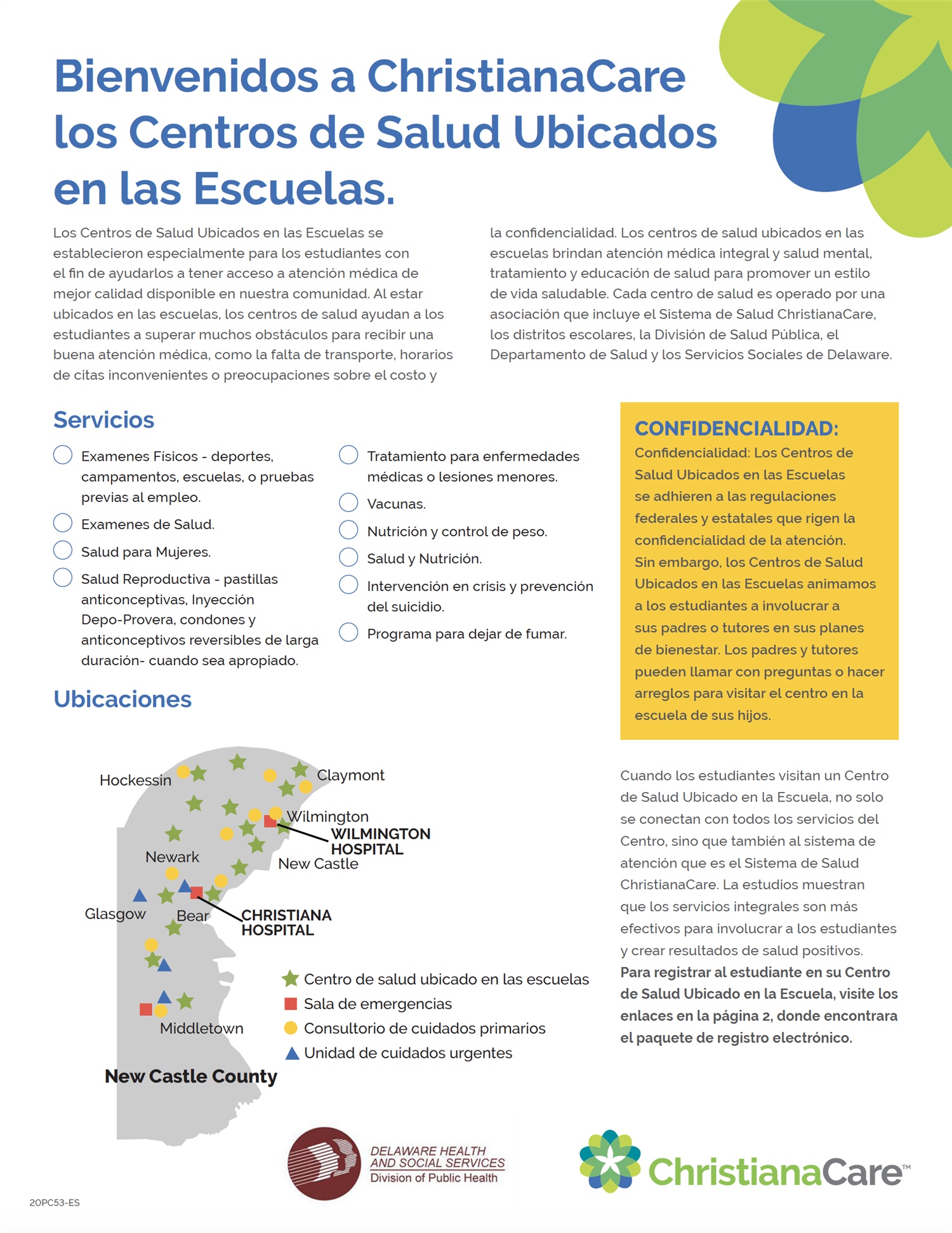 Informational Flyer - Spanish