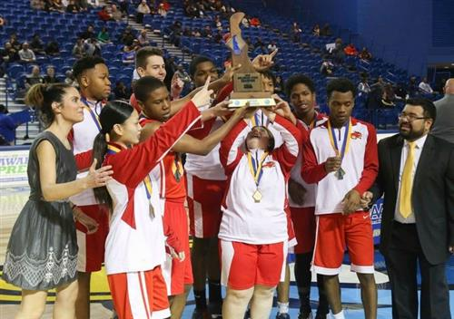 Glasgow High School Wins 1st DIAA/Special Olympics Delaware Unified Basketball Championship